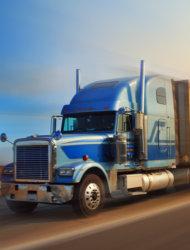 A cargo truck