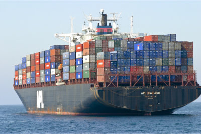 Ship full of cargoes